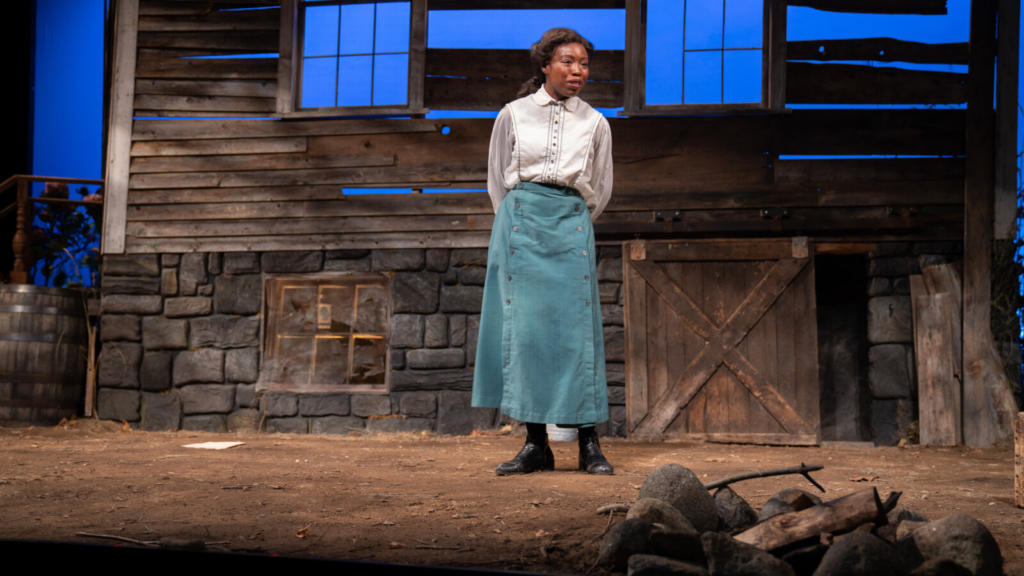 """Nedra Snipes as title character Perseverance """"Percy"""" Turner in Callie Kimball's play at Portland Stage."""