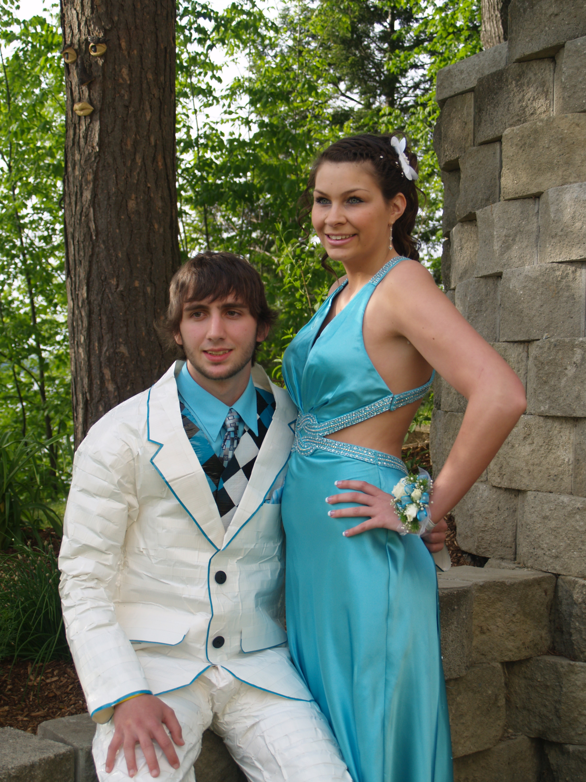 Famous Duct Tape Prom Dress Contest Contemporary - Wedding Ideas ...
