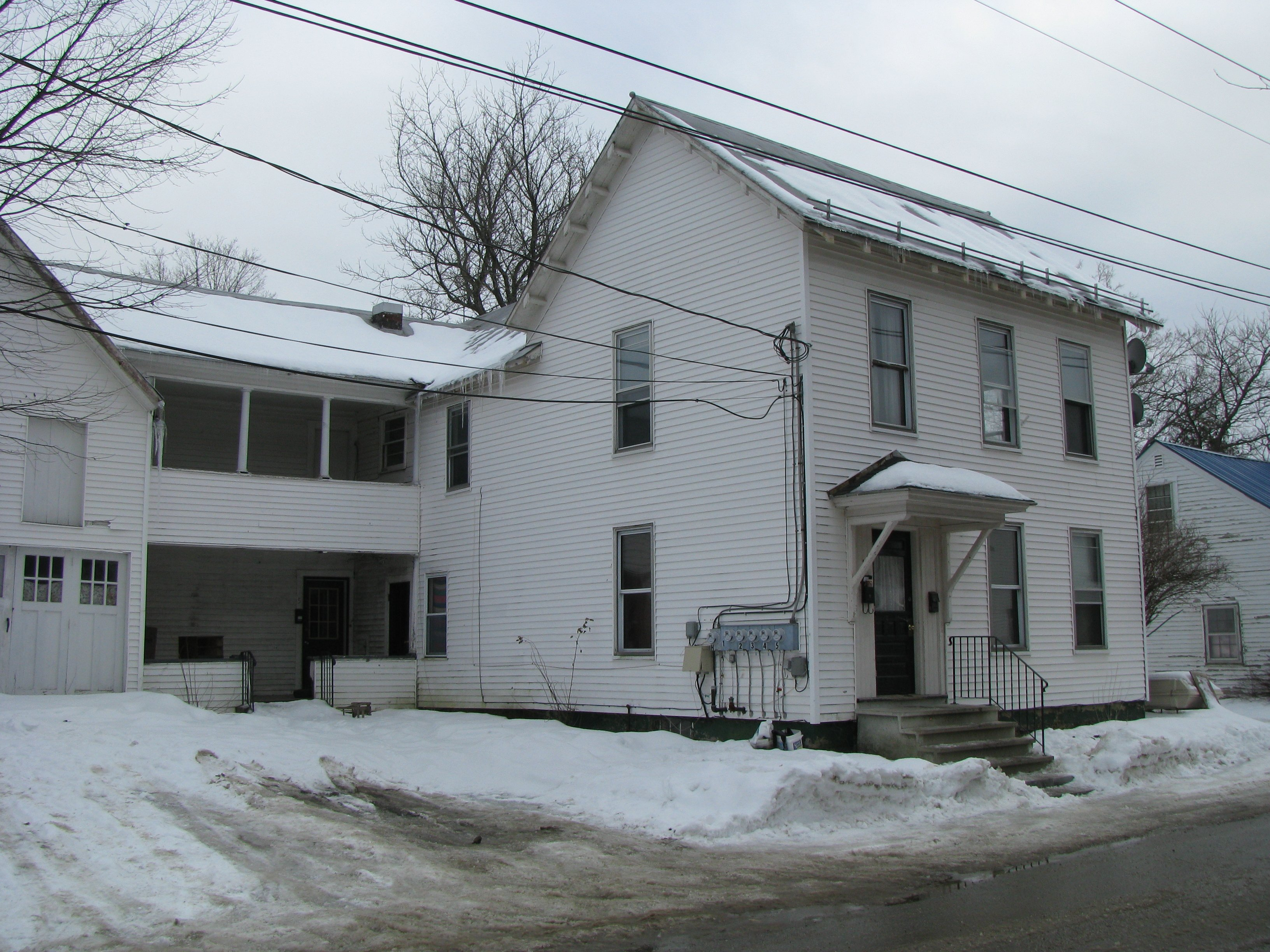 Board To Discuss Dangerous House With Old Wiring Lewiston Sun In Advertisement