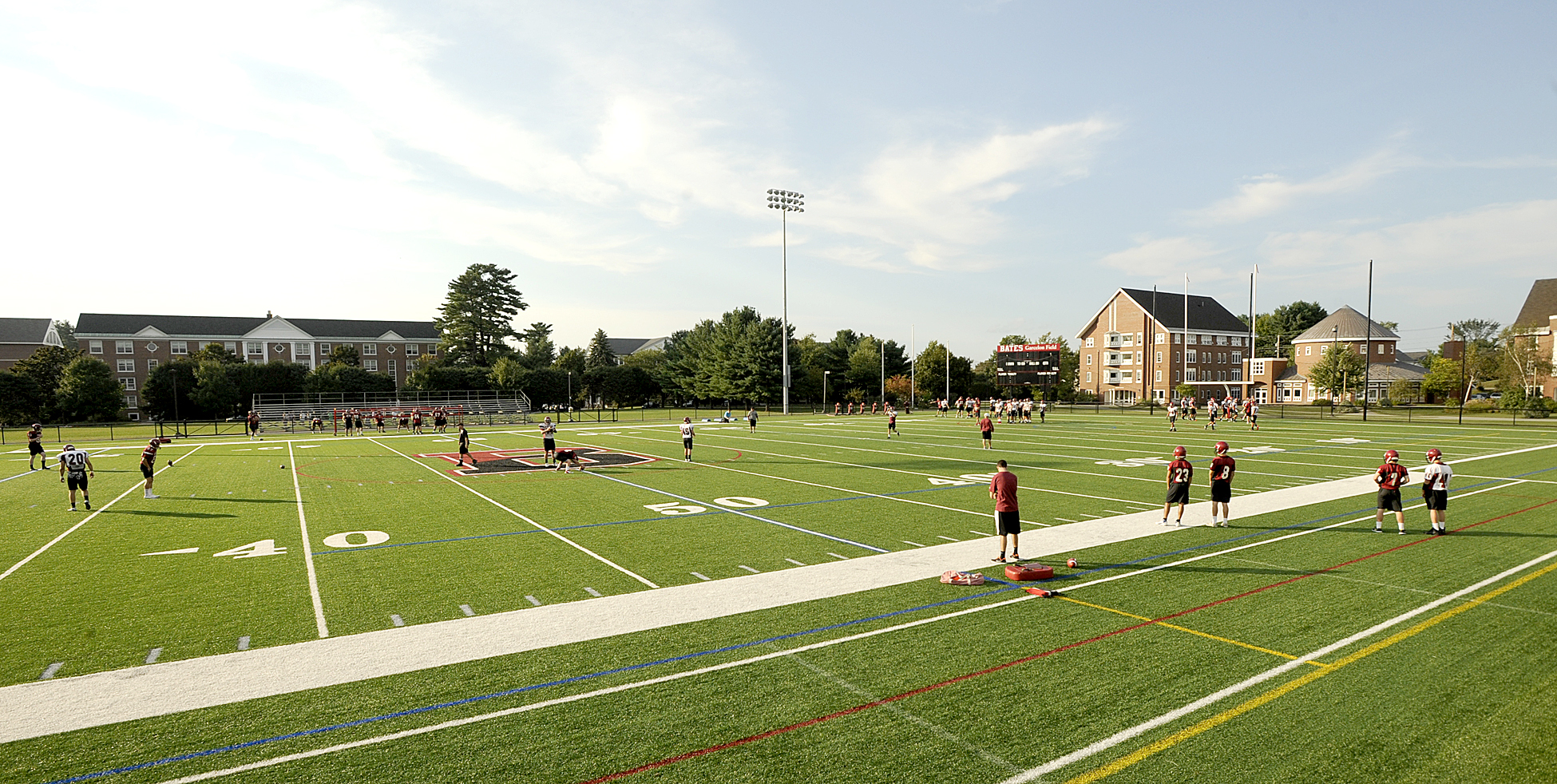 teams find nothing artificial about benefits of turf lewiston