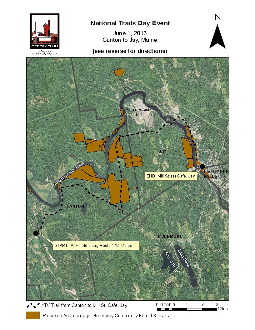 ATV ride from Canton to Jay highlights National Trails Day ... Maine Atv Trail Map on maine map with counties and towns, maine golf course map, rumford maine map, 89 maine its trail map, indian peaks utah map, south mountain hiking trails map, harney peak sd trail map, baxter state park trail map, maine hiking trail map, maine snowmobile association, maine coast cities map, maine salmon falls river, state of maine city town map, maine real estate map, jackman trail map, vermont atv trails map, maine gazetteer online, maine moose loop trail map, maine huts trail maps, presque isle maine airport map,