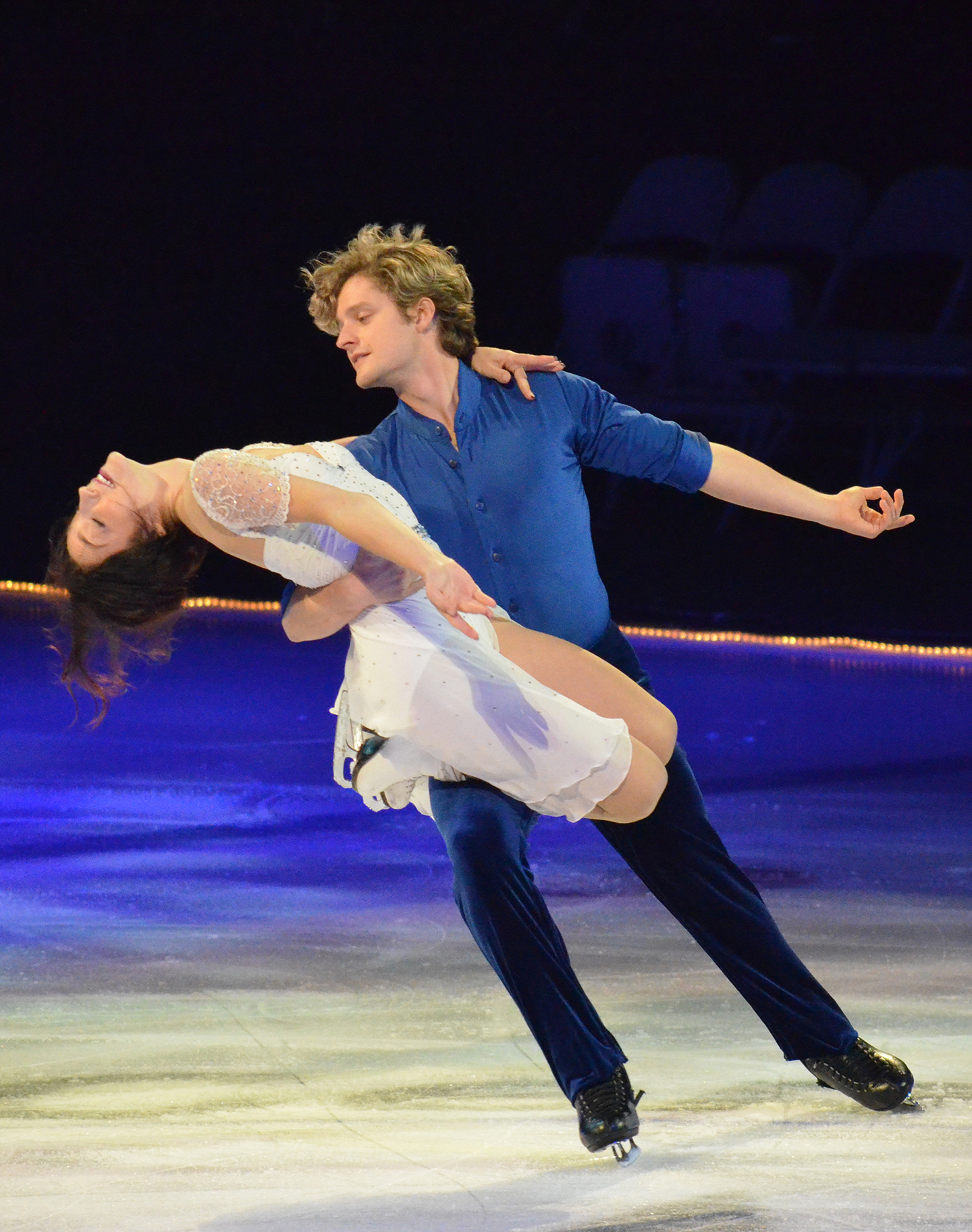 davis and white ice dancing are they dating