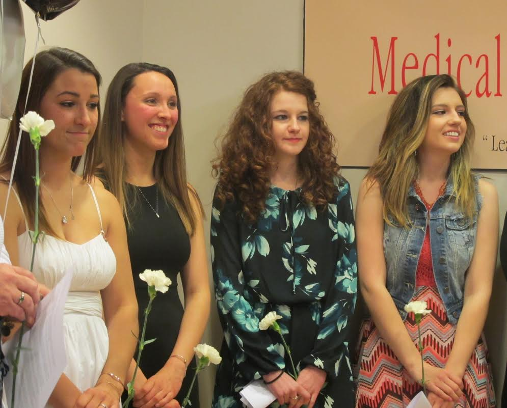 New medical assistants receive pins at CMCC - Lewiston Sun Journal