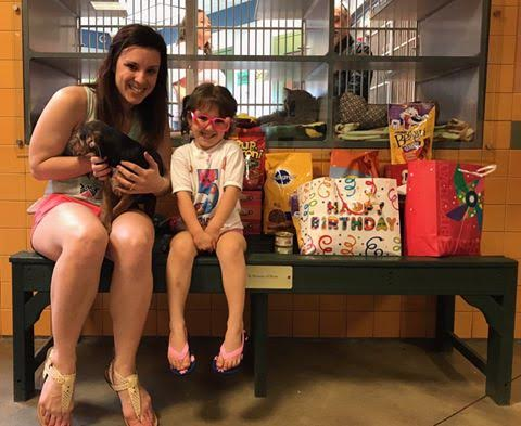 Kaida Gatcomb Of Lewiston Presented The Greater Androscoggin Humane Society With Donations From Her Fifth Birthday On April 29 Asked For
