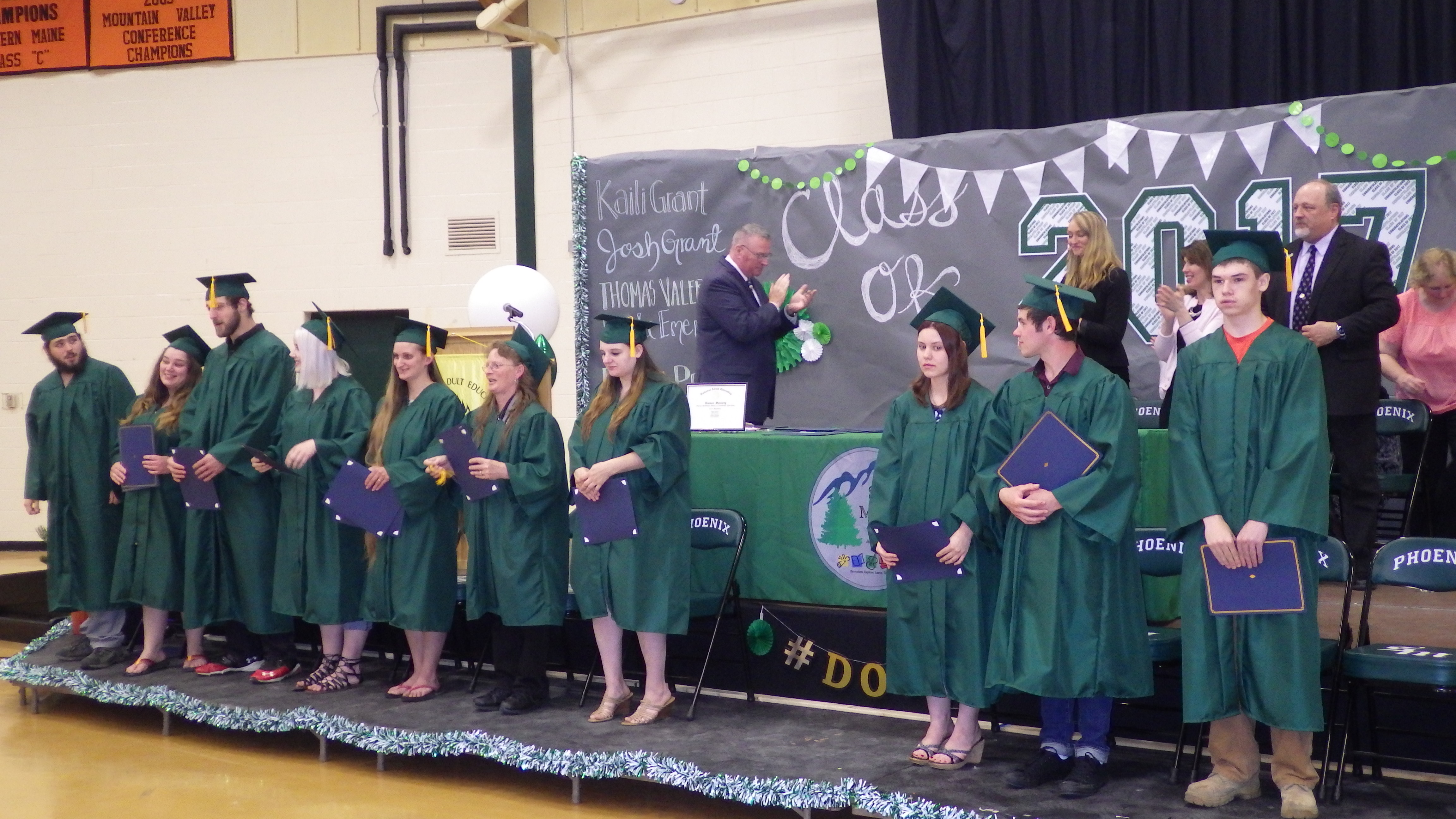 The Spruce Mountain Adult & Community Education Class of 2017.
