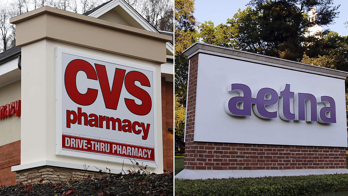 why cvs health would want to buy aetna lewiston sun journal