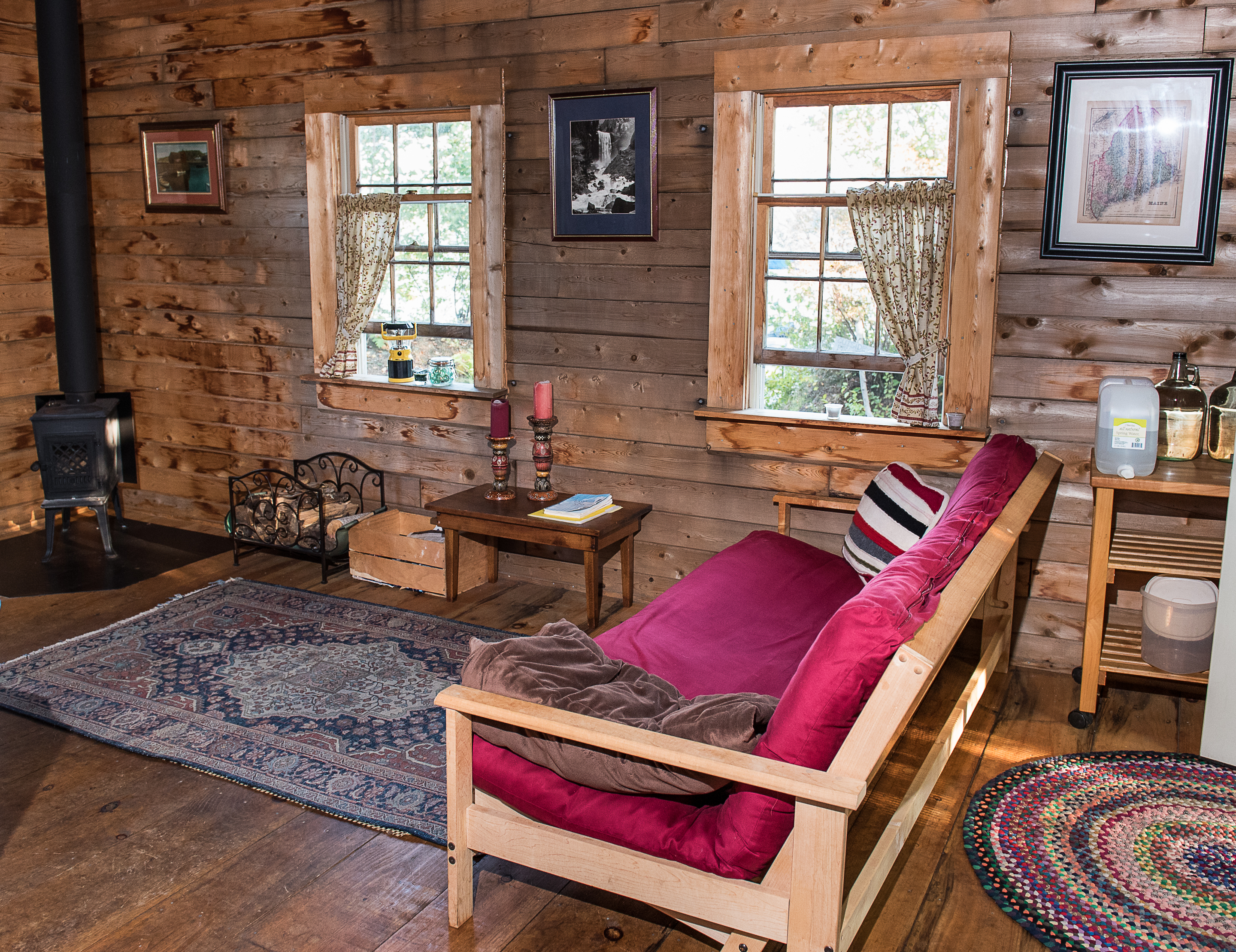 log s pin cabins your sale finishes home homes first rustic exterior maine impression pictures