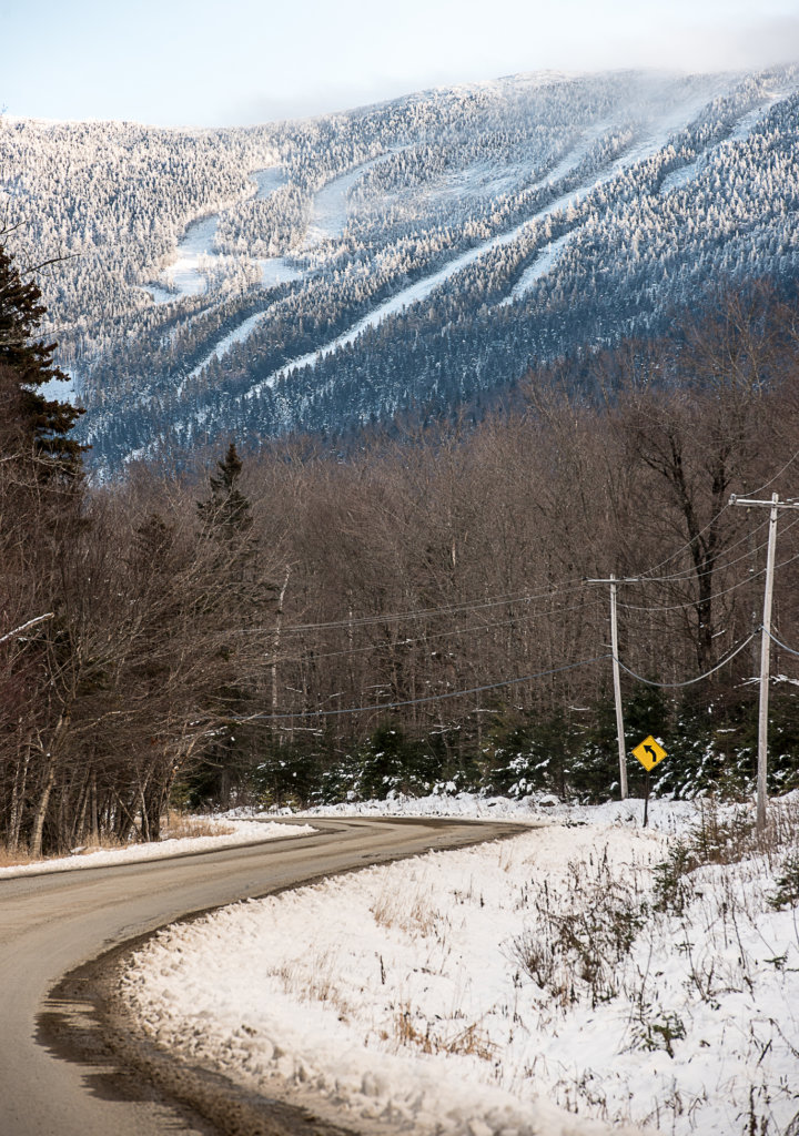 A slope of Saddleback Mountain ski resort can be seen covered in natural snow. The ongoing silence about the fate of the resort has prompted concern and rumors among the residents and business owners in Rangeley. (Sun Journal file photo)