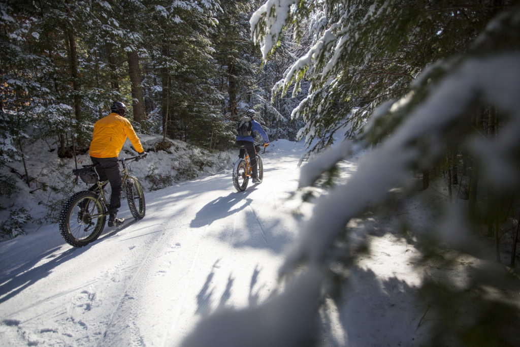 Fat bikes gaining popularity in maine maine bicycles for Portland maine bike trails