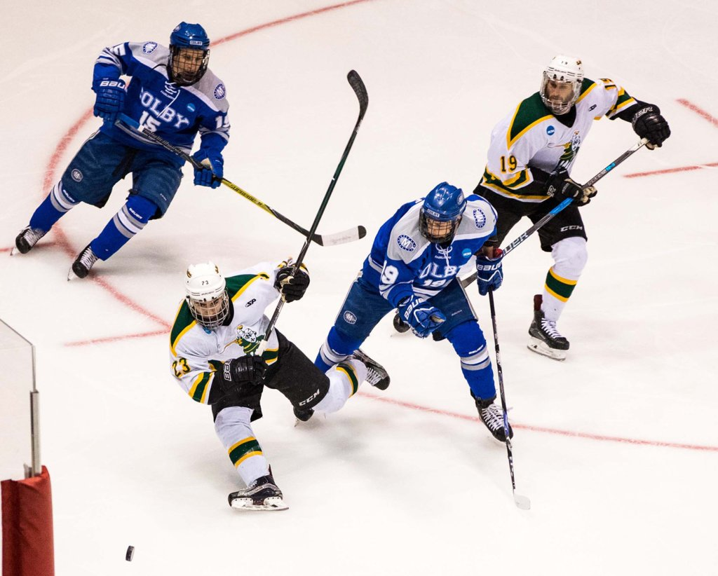 College hockey: Colby's rally falls short in Frozen Four ...