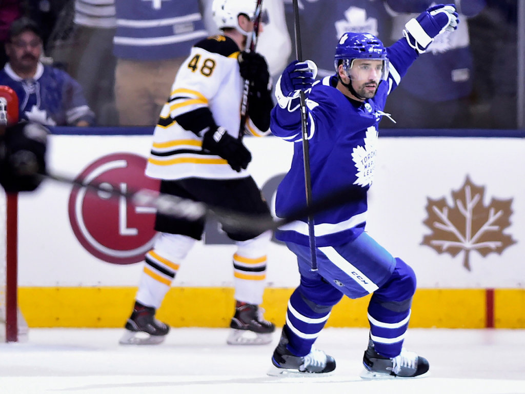Andersen Helps Maple Leafs Beat Bruins To Force Game 7 Lewiston Sun Journal