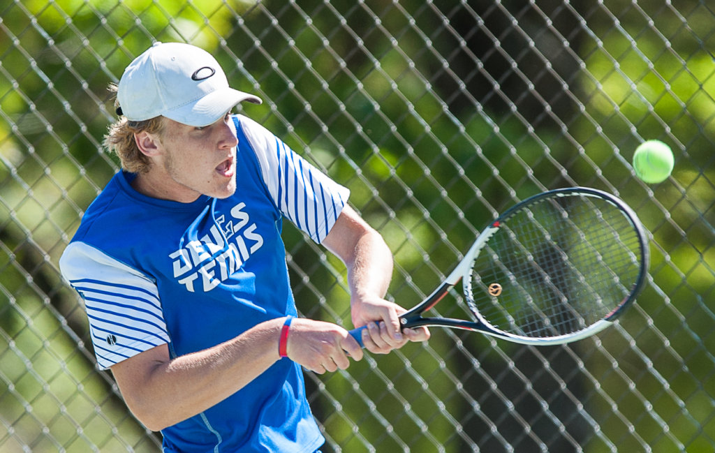 All Region Boys Tennis Poy Smith S Solid Play Leads Lewiston To A