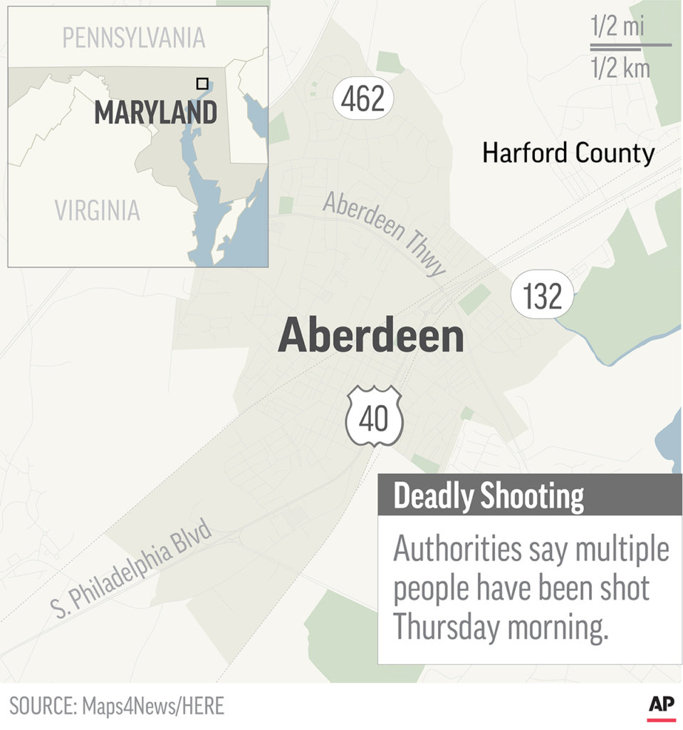 4 dead, including suspect, after Maryland Rite Aid warehouse ...