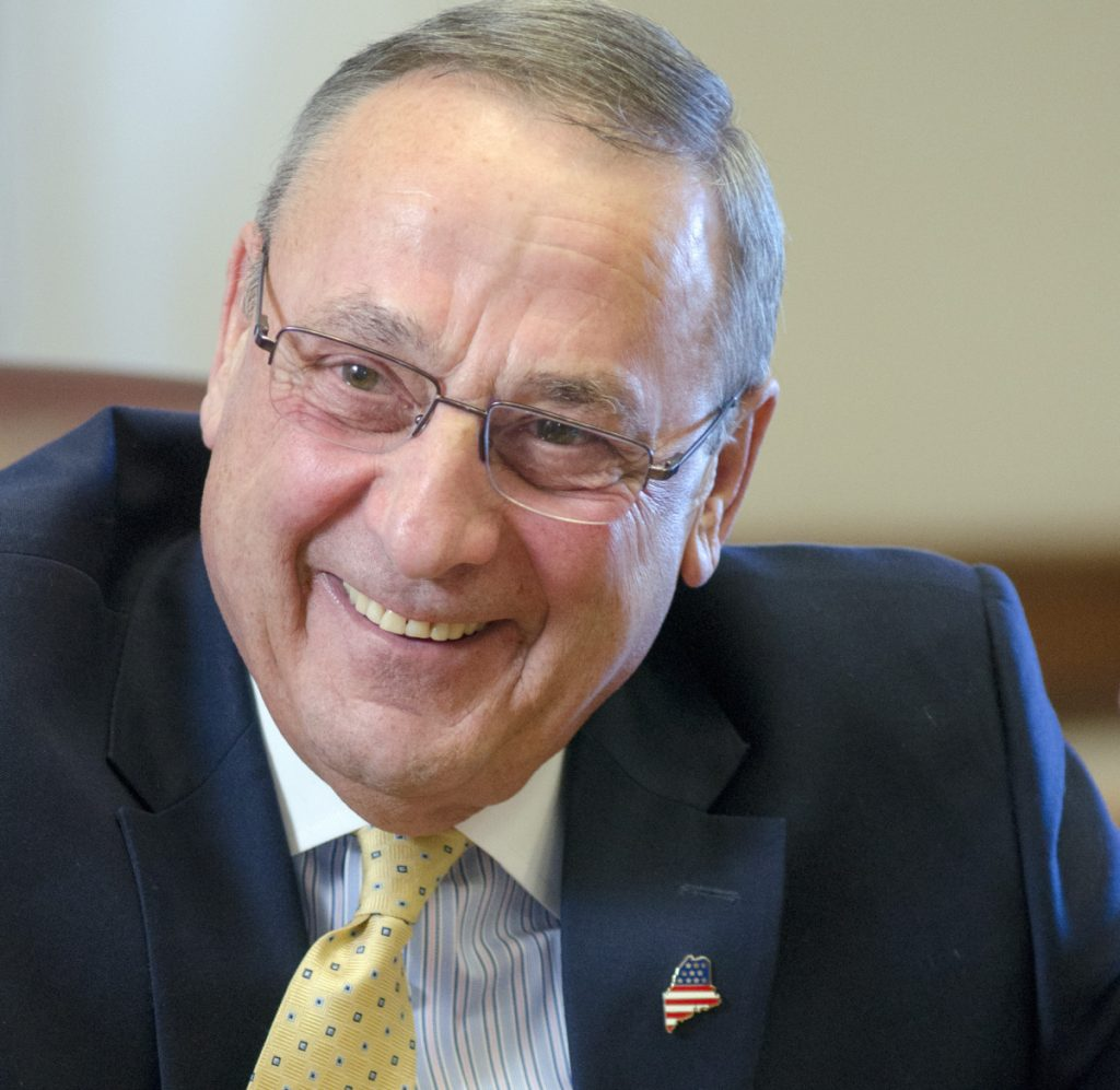 Gov. Paul LePage's 2016 claim about the racial makeup of drug dealers was contradicted by his drug arrests scrapbook.
