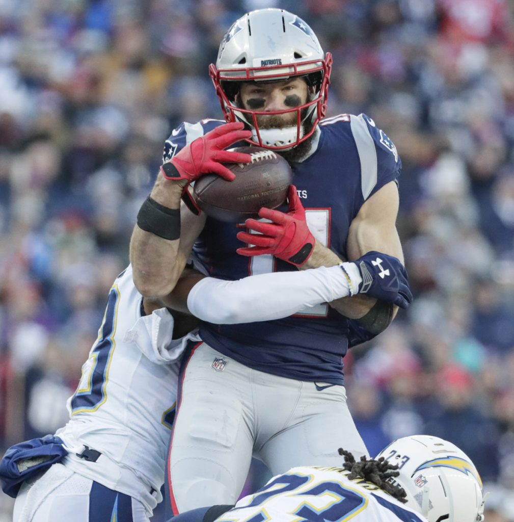 Julian Edelman had nine catches for 151 yards to help New England beat the Chargers and reach the AFC title game. Now the Patriots need an encore.