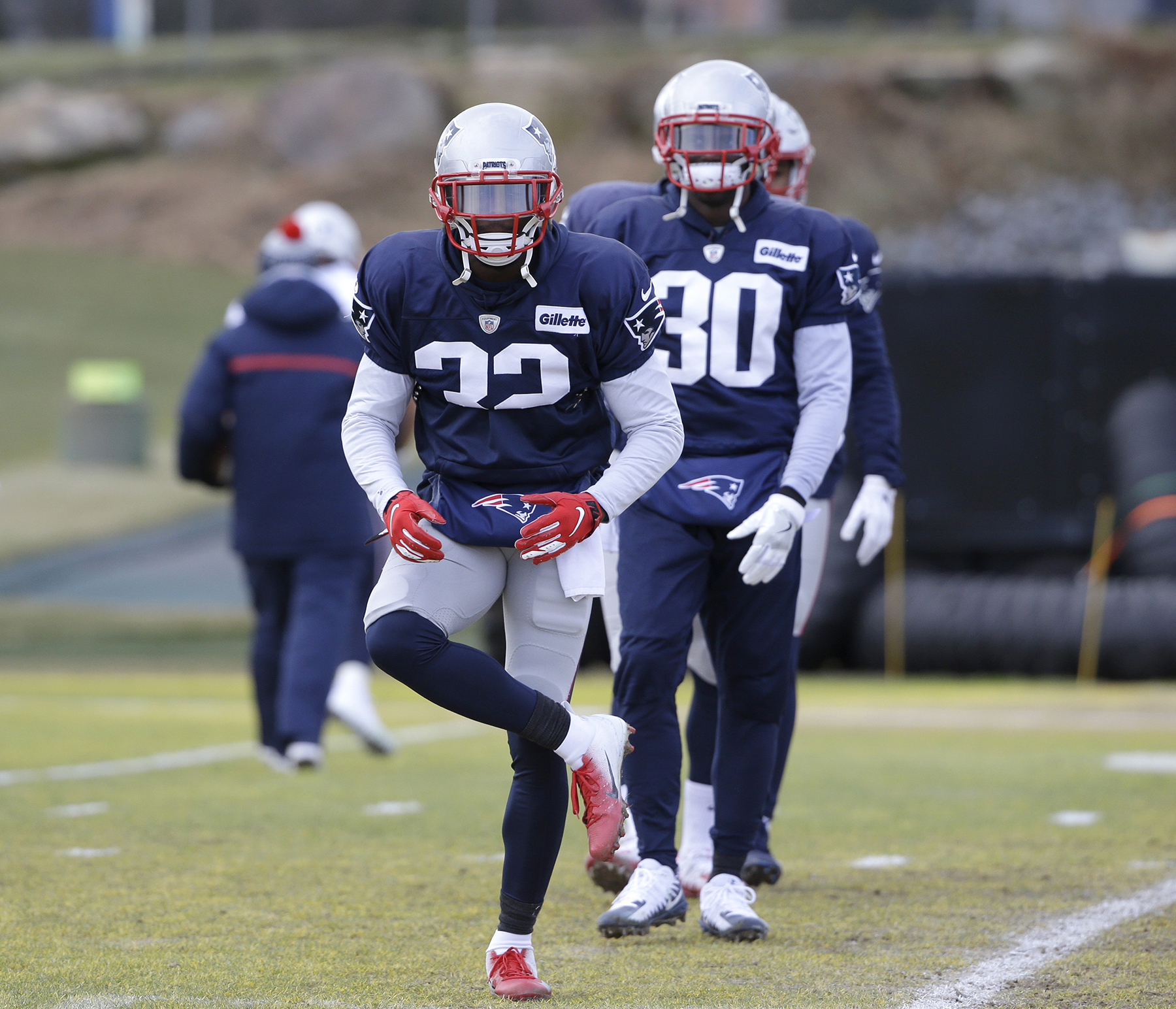 the latest 97f79 30ced Patriots' playoff run special for McCourty twins | Lewiston ...