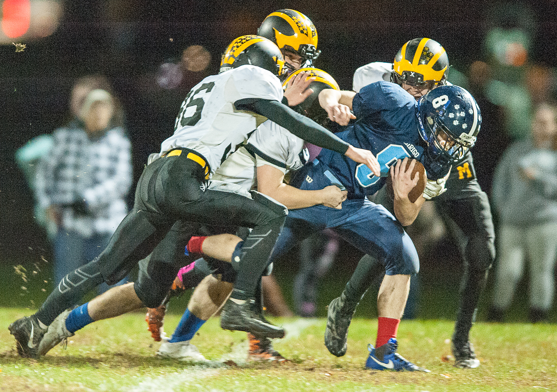 H S  football: Eight-man proposal gets mixed reaction from