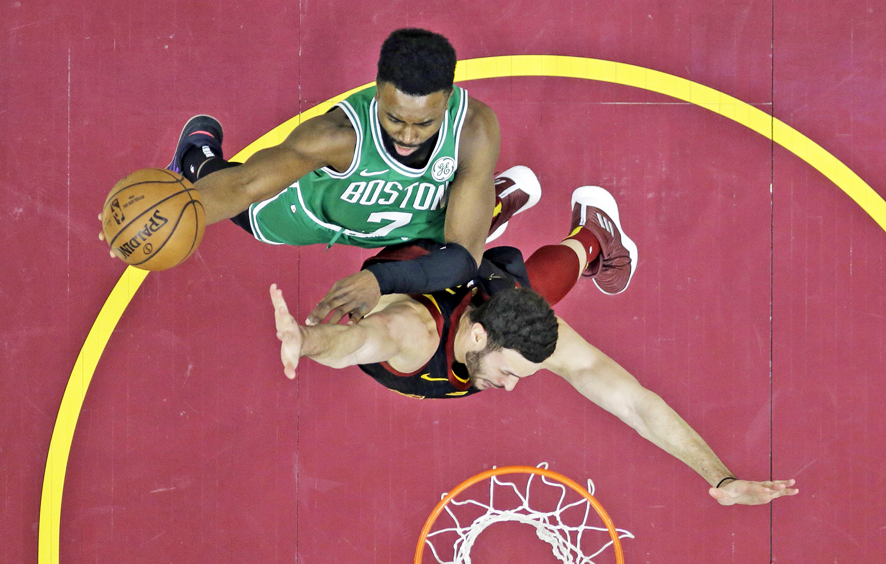 905549343 Jayson Tatum scores 25 as Celtics down lowly Cavs