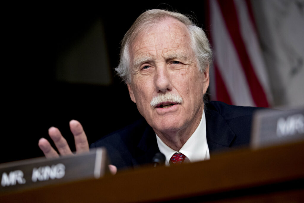 Angus King wants the US to unplug parts of electric grid
