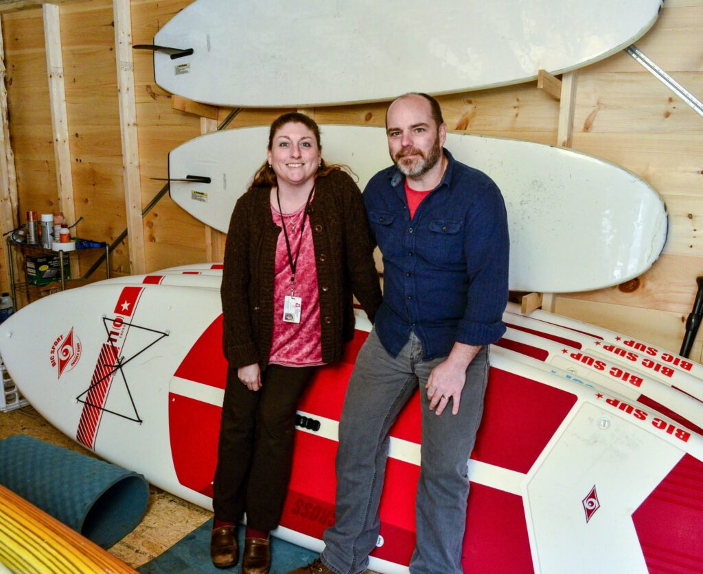 Side Gig: Paddle boards and repurposed furniture for Gardiner couple