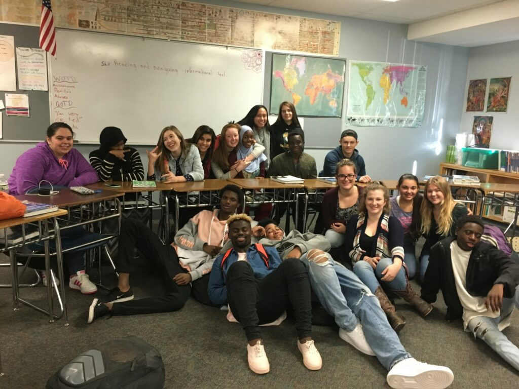 Facing race and difference … two schools at a time
