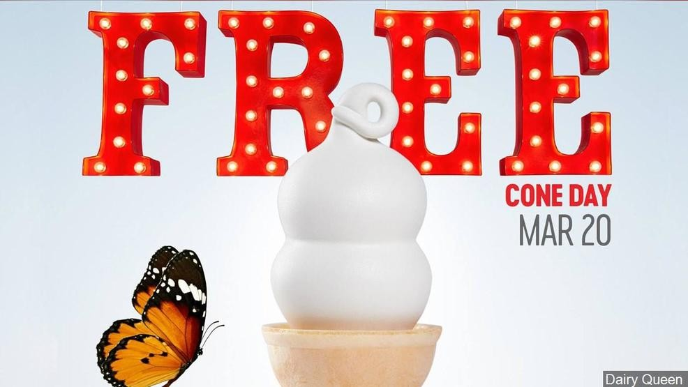 Dairy Queen is celebrating the first day of Spring with free ice cream