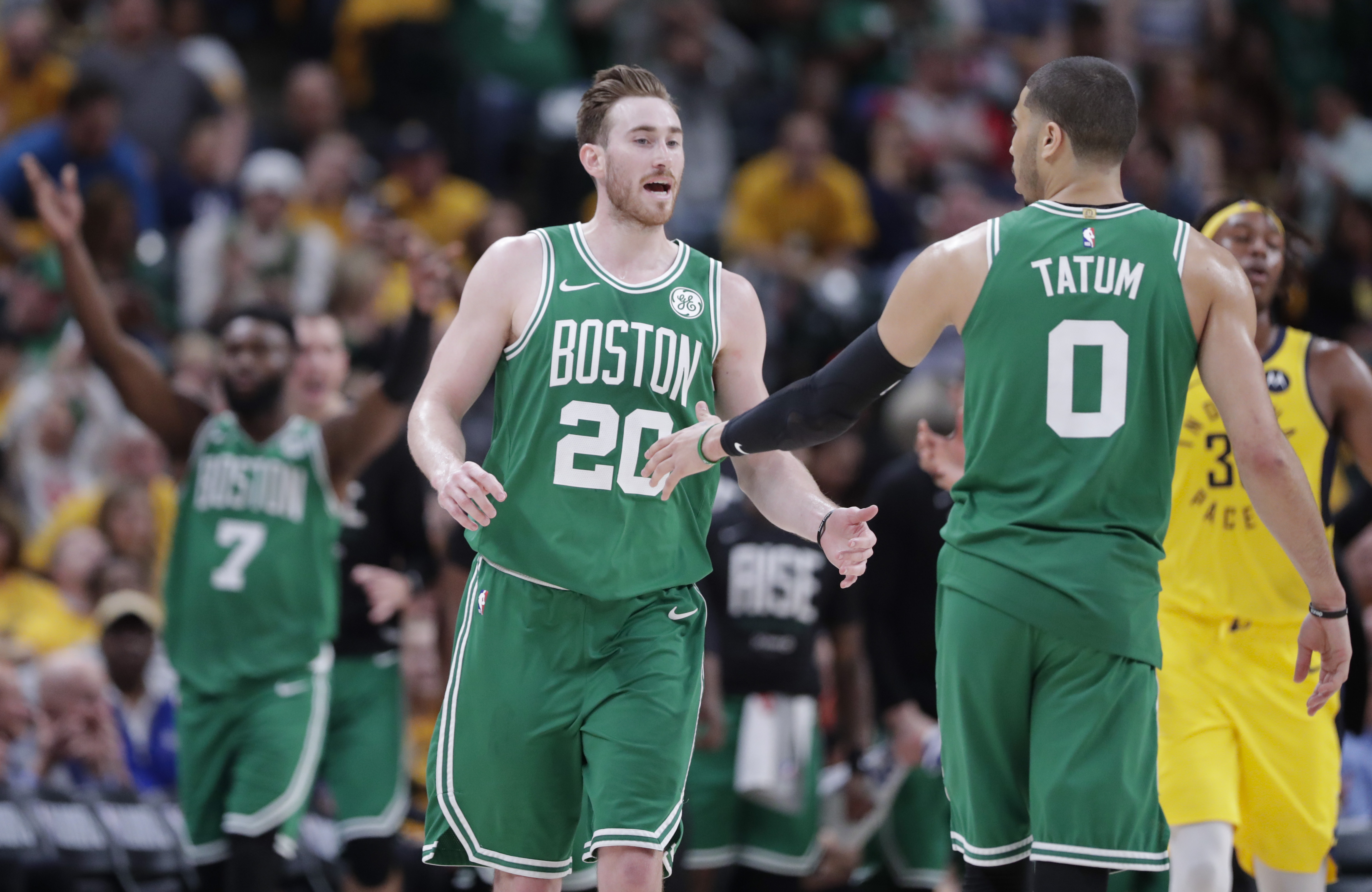 5bebf1754491 Celtics finish off Pacers with sweep