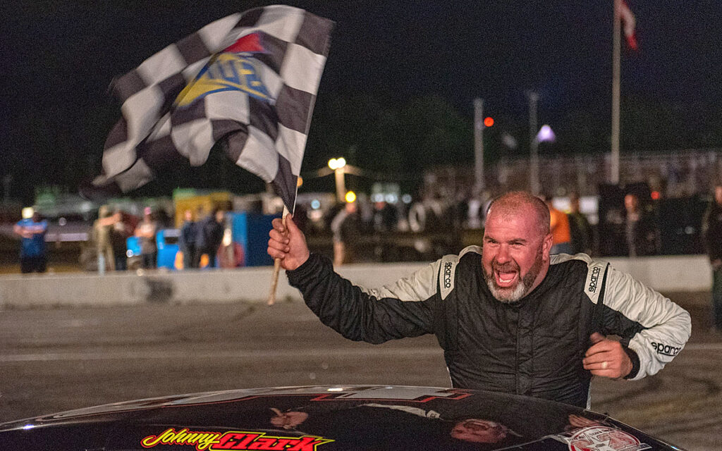 Auto racing: Johnny Clark wins first Oxford 250 title