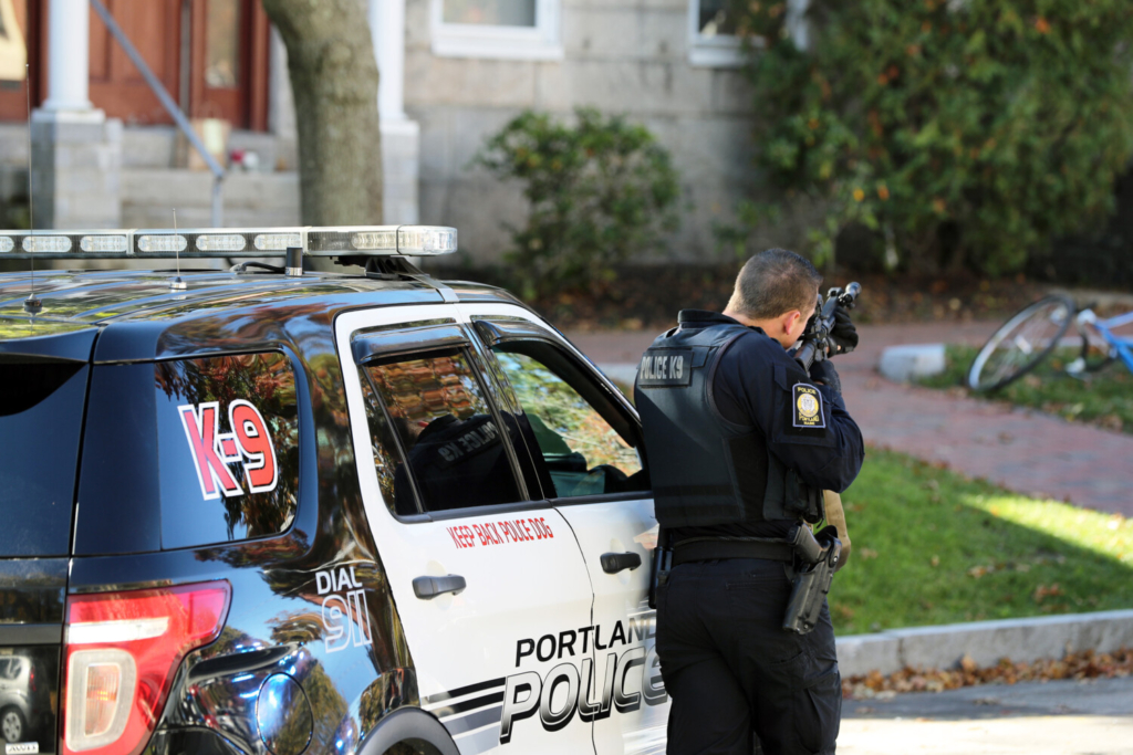 Portland police converge on State Street to deal with incident