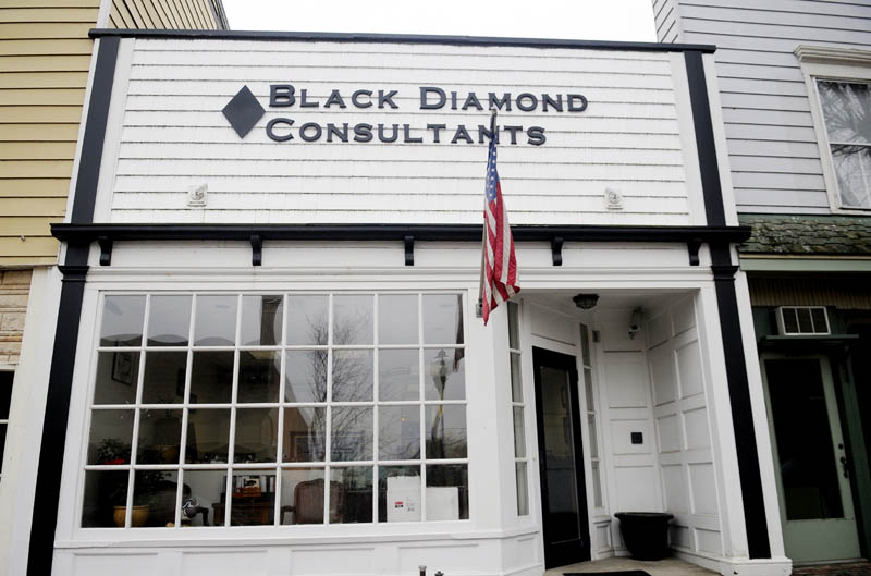 BLACK DIAMOND: Black Diamond Consultants plans to relocate from offices on Water Street in Gardiner to an office building the firm will erect at Libby Hill Business Park in the city.