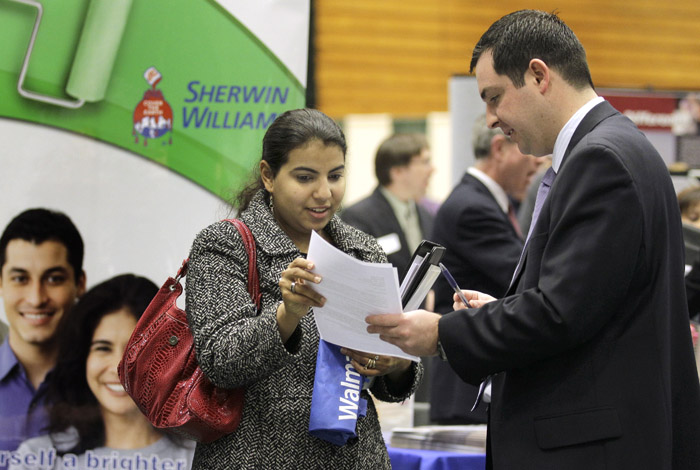 unemployment falls to two-year low
