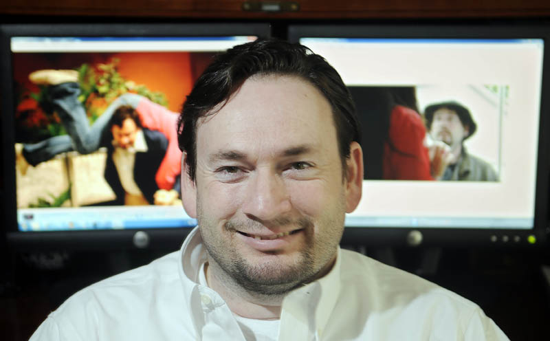 Bill McLean, of Monmouth, portrays Scooter McGruder in a feature film by the same name.