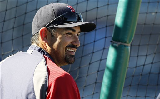 The Boston Red Sox agreed to terms on a seven-year, $154 million contract with first baseman Adrian Gonzalez. The Red Sox announced the deal at a press conference Friday.