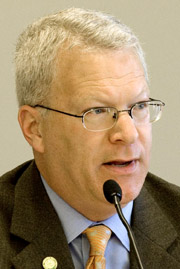 Paul Violette, former executive director of the Maine Turnpike Authority.