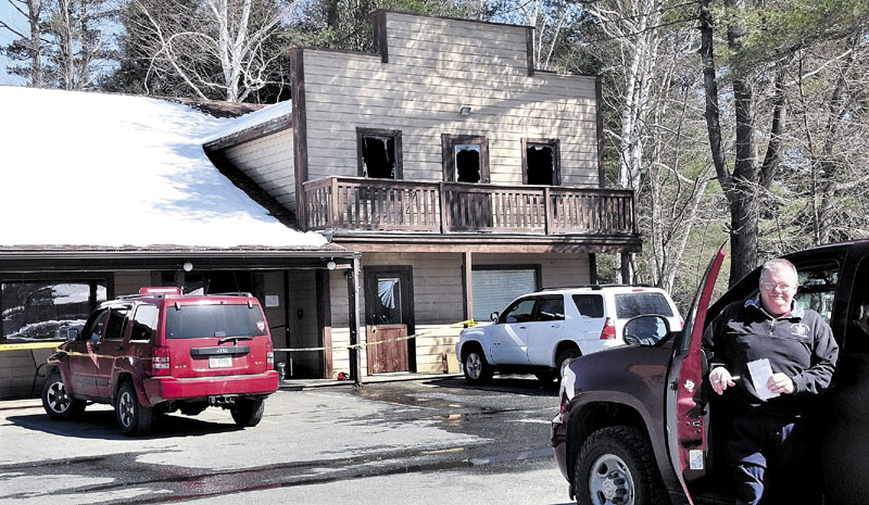 A fire that caused substantial damage to Tracy's Tavern in Oakland early Sunday morning has been deemed an accident by state fire marshals. Local and state fire officials say the blaze was caused by combustible material placed too close to an electric heater.