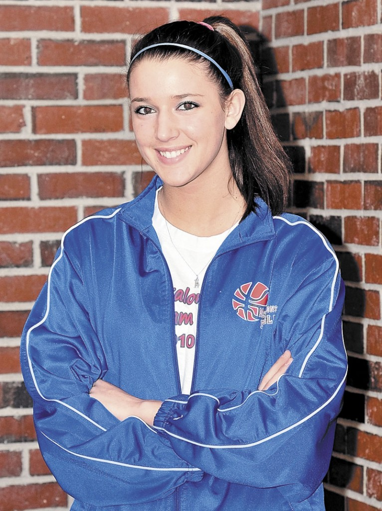 TOUGH TO STOP: Messalonskee's Megan Pelletier, a 6-foot-1 center who averaged 22 points and 11 rebounds per game this season, is the choice for the Morning Sentinel Girls Basketball Player of the Year.