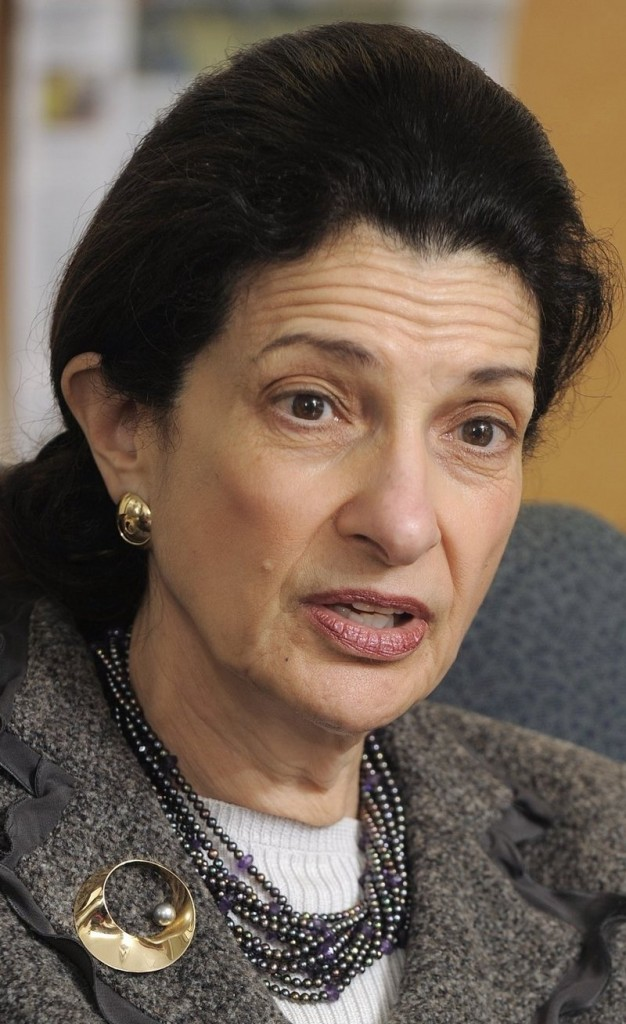 """Sen. Olympia Snowe: The legislation """"strikes a balance between the sanctity of a funeral service and the right to free speech."""""""
