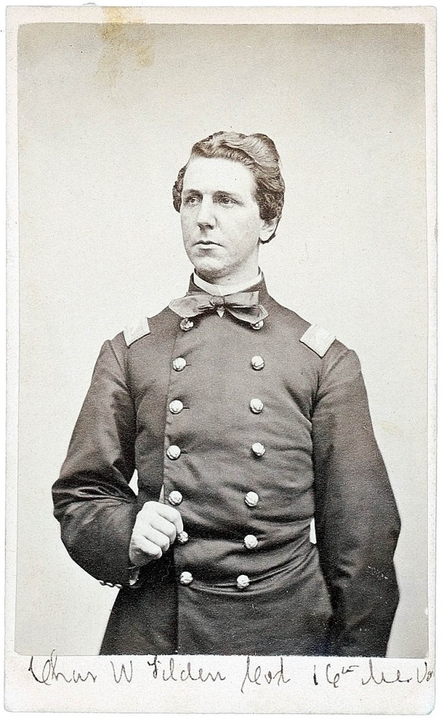 Col. Charles Tilden was the 16th Maine Regiment's commander.