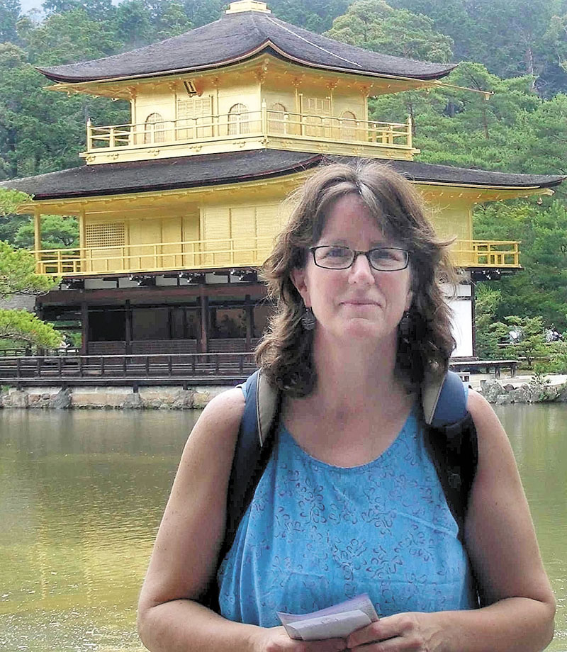 MEMORABLE TRIP: Winslow teacher Lisa Ericson recently spent time in Japan as part of as a Japan-U.S. Teacher Exchange Program.