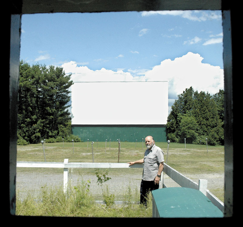 "PICTURE SHOW: The Skowhegan Drive-In, where Doug Corson was worked the summers as manager for 30 years, will show the movie ""Tank Girl"" Thursday night as part of the Maine International Film Festival."