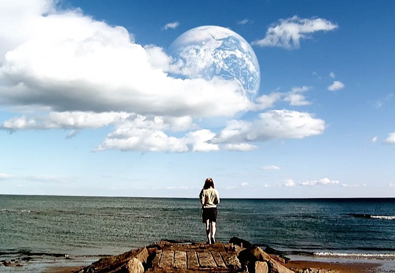 """PARALLELS: The Maine International Film Festival's closing night film """"Another Earth"""" is a science-fiction romance co-written and directed by Mike Cahill."""