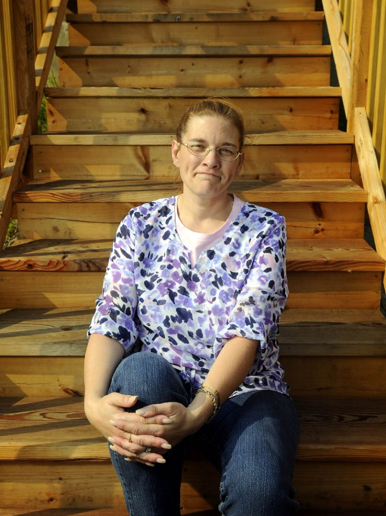 RELIEF FROM PAIN: Melinda Brawn suffered debilitating headaches until she underwent surgery recently. The 43-year-old Chelsea resident says she now no longer suffers from migraine headaches.