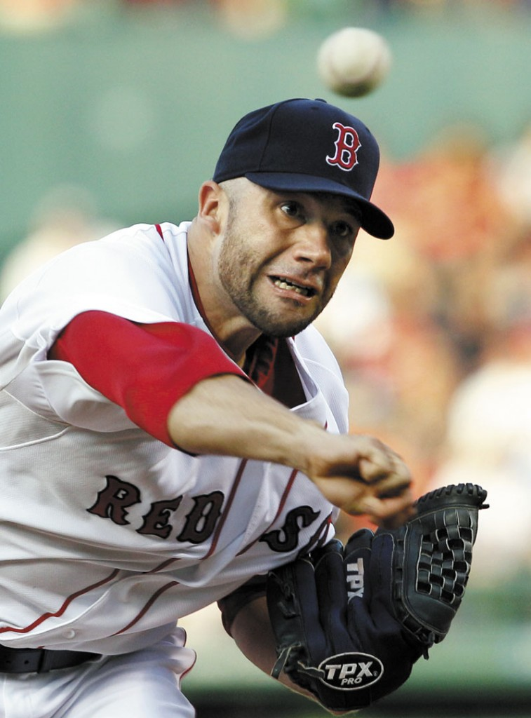 Spot starter: Boston pitcher Alfredo Aceves will be needed as a starter after injuries to Jon Lester and Clay Buccholz.