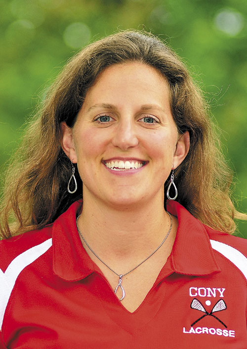 Morning Sentinel/Kennebec Journal Girls Lacrosse Coach of the Year Gretchen Livingston