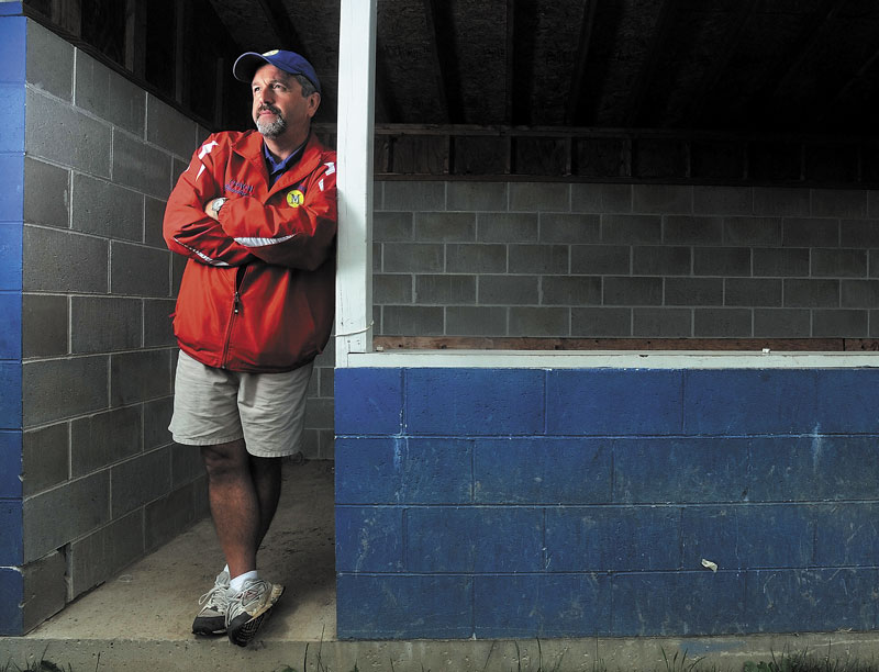 LEADING MAN: Messalonskee's Leo Bouchard is the Morning Sentinel Softball Coach of the Year.