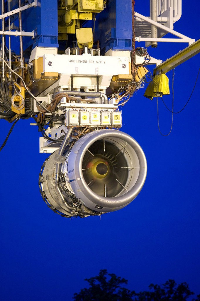SAVING GAS AND MONEY: The newly designed LEAP turbofan engine was tested recently. The lower weight is helping the engine provide a 15 percent reduction in fuel consumption and well as a 15 percent reduction in carbon emissions.