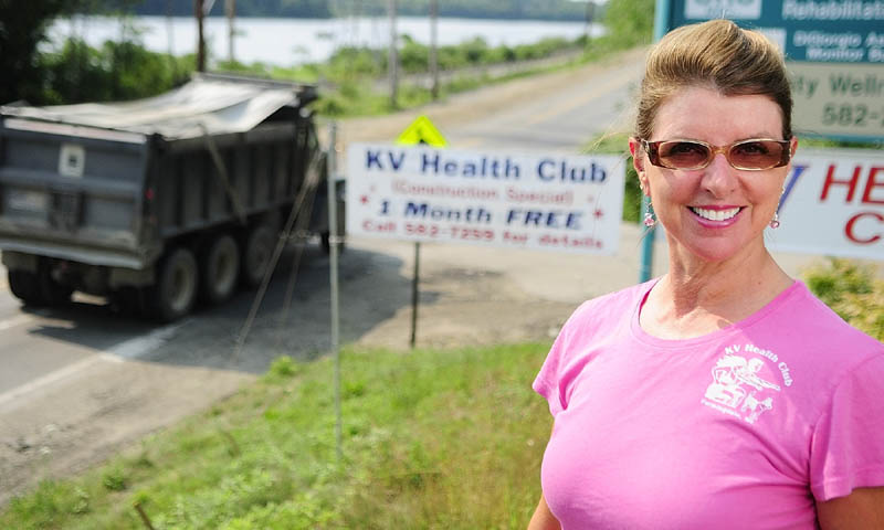 Owner Sharon Roy is running a construction special at the KV Health Club in Farmingdale.
