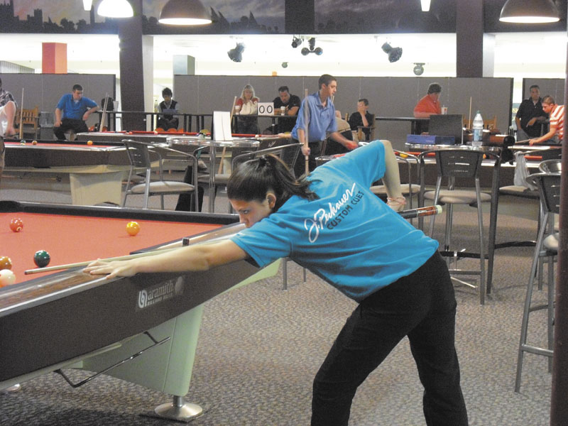 FINALLY, THE BEST: Taylor Reynolds, 14 of Winslow, won the Billiard Education Foundation's Junior National Championship in the 14-under girls division recently. Reynolds had finished second in tournament the previous three summers. June 2011