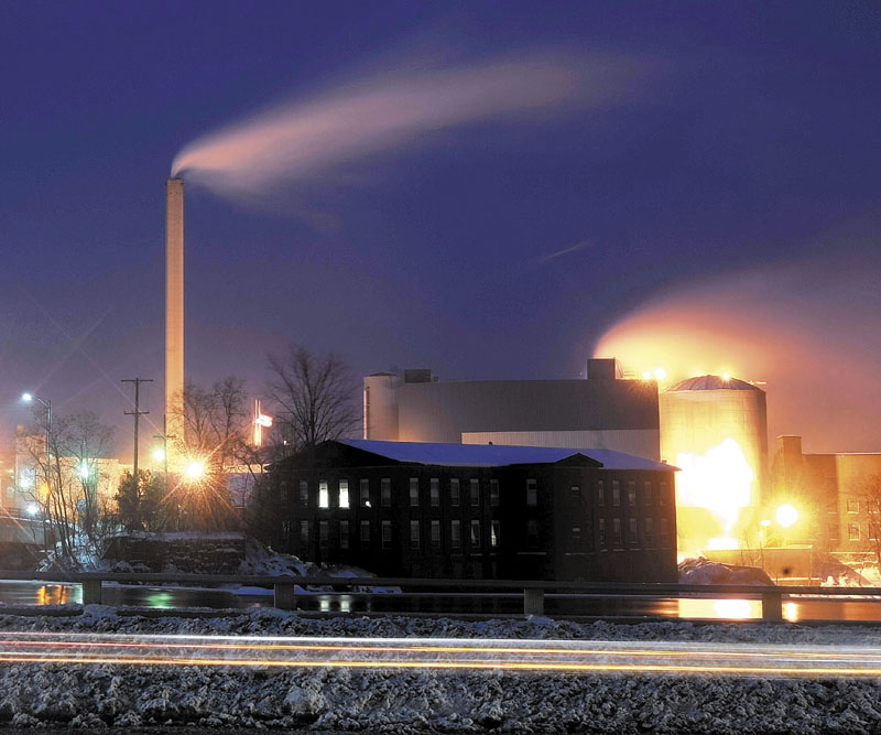 The Madison paper mill will close for a several week period starting later this month. Staff file photo by Michael G. Seamans