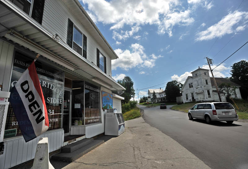 Cambridge General Store on Maine Street in Cambridge is the only retail store in the twon of 2,000 people.